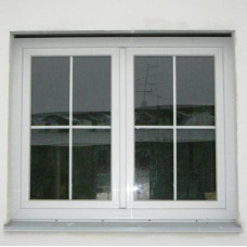 Plastová bílá okna