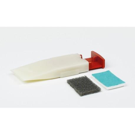 Špachtle s hoblíkem na opracování voskových tmelů Füllstoff-Hobel