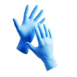 Ochranné jednorázové nitrilové rukavice