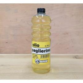 Nažloutlý  brusný napouštěcí olej na dřevo