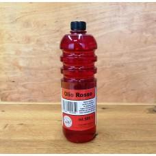 Napouštěcí brusný červený olej Rotöl