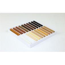 Opravný měkký voskový tmel odstíny dřevin