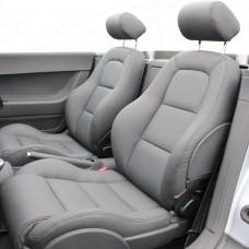 Oprava kožené sedačky auta