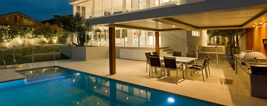slide1 - Bazén a zahrada